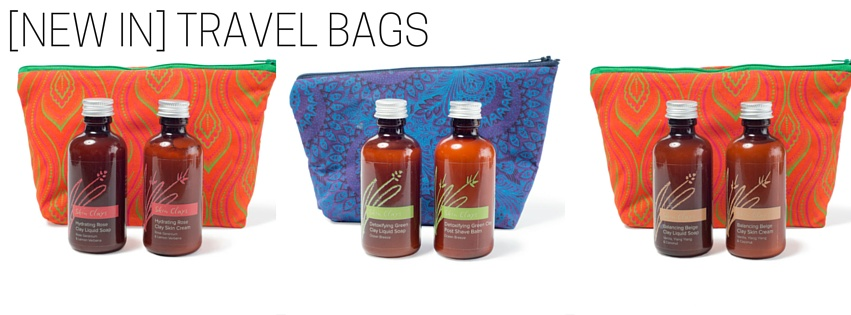 Skin Clays Travel Bags