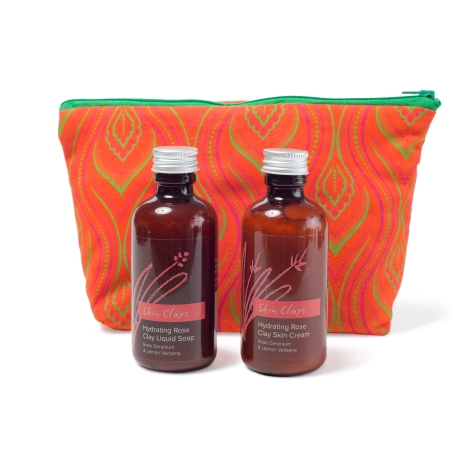 Rose Clay (Body Wash & Lotion Set)